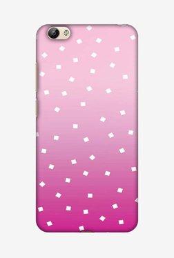 Amzer Pink Bits Hard Shell Designer Case For Vivo Y66