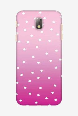 Amzer Pink Bits Hard Shell Designer Case For Samsung J7 Pro