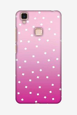 Amzer Pink Bits Hard Shell Designer Case For Vivo V3Max