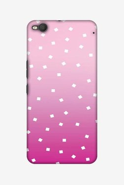 Amzer Pink Bits Hard Shell Designer Case For HTC One X9