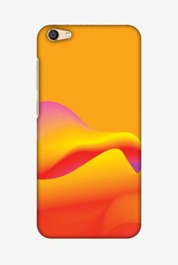 Amzer Pink Gradient Hard Shell Designer Case For Vivo X7 Plus