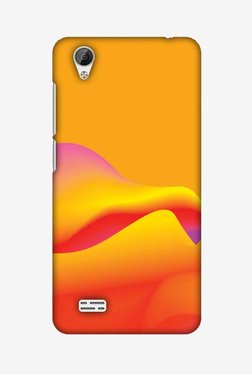 Amzer Pink Gradient Hard Shell Designer Case For Vivo Y31