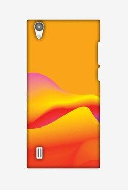 Amzer Pink Gradient Hard Shell Designer Case For Vivo Y15/Y15S