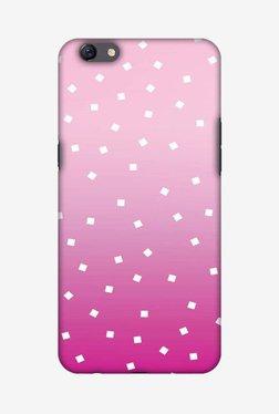 Amzer Pink Bits Hard Shell Designer Case For Oppo F3 Plus