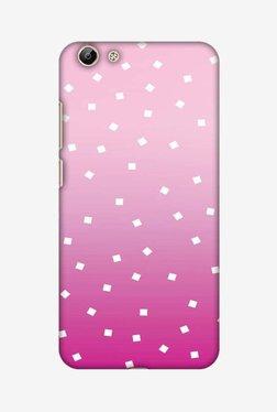 Amzer Pink Bits Hard Shell Designer Case For Vivo Y69