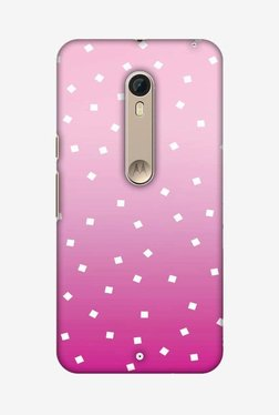 Amzer Pink Bits Hard Shell Designer Case For Moto X Pure Edition/Moto X Style