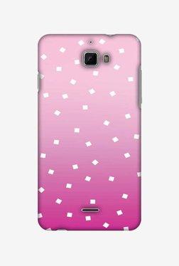 Amzer Pink Bits Hard Shell Designer Case For Coolpad Dazen 1