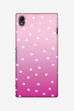Amzer Pink Bits Hard Shell Designer Case For Sony Xperia Z1 L39h