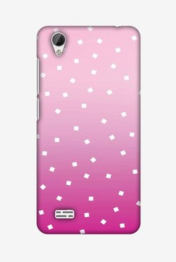 Amzer Pink Bits Hard Shell Designer Case For Vivo Y31