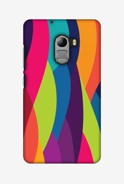 Amzer Bold Waves Hard Shell Designer Case For Lenovo A7010/K4 Note