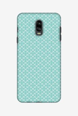 Amzer Checkered In Pastel Hard Shell Designer Case For Samsung C8/J7 Plus