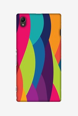 Amzer Bold Waves Hard Shell Designer Case For Sony Xperia Z1 L39h