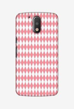 Amzer Fishtail Pattern Hard Shell Designer Case For Moto G4 Play