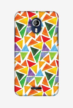 Amzer Bold Shapes Hard Shell Designer Case For Micromax Canvas Magnus