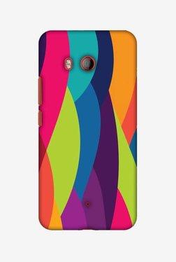 Amzer Bold Waves Hard Shell Designer Case For HTC U11