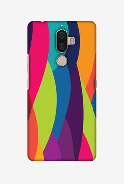 Amzer Bold Waves Hard Shell Designer Case For Lenovo K8 Note