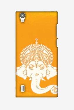 Amzer Almighty Ganesha Hard Shell Designer Case For Vivo Y15/Y15S