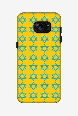 Amzer Hanukkah Pattern 1 Hybrid Dual Layer Hard Shell Designer Case For Samsung S7
