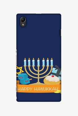 Amzer Hanukkah 2 Hard Shell Designer Case For Sony Xperia Z1 L39h