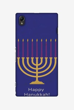 Amzer Hanukkah 1 Hard Shell Designer Case For Sony Xperia Z1 L39h