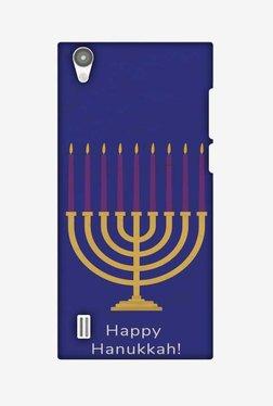 Amzer Hanukkah 1 Hard Shell Designer Case For Vivo Y15/Y15S