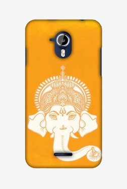 Amzer Almighty Ganesha Hard Shell Designer Case For Micromax Canvas Magnus