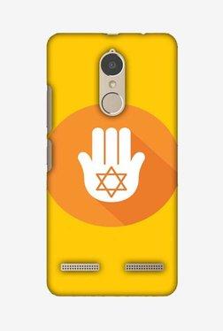 Amzer Hanukkah 3 Hard Shell Designer Case For Lenovo K6/K6 Power