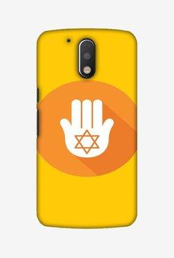Amzer Hanukkah 3 Hard Shell Designer Case For Moto G4 Play