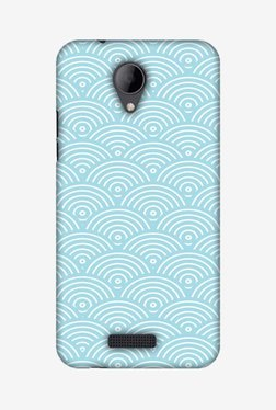 Amzer Overlapped Circles Hard Shell Designer Case For Micromax Canvas Pace 4G