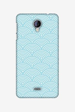 Amzer Overlapped Circles Hard Shell Designer Case For Micromax Canvas Unite 2