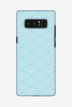 Amzer Overlapped Circles Hard Shell Designer Case For Samsung Note 8