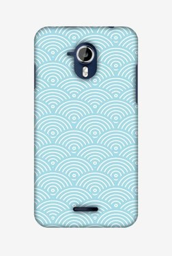 Amzer Overlapped Circles Hard Shell Designer Case For Micromax Canvas Magnus