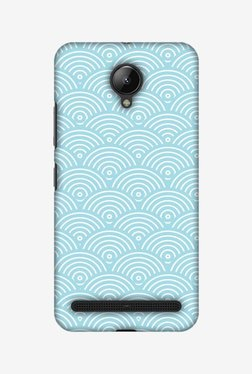 Amzer Overlapped Circles Hard Shell Designer Case For Lenovo C2