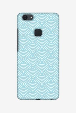 Amzer Overlapped Circles Hard Shell Designer Case For Vivo Y79/V7 Plus