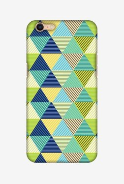 Amzer Triangles & Triangles Hard Shell Designer Case For Oppo A39