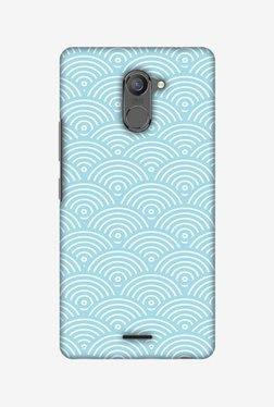 Amzer Overlapped Circles Hard Shell Designer Case For Infinix Hot 4 Pro