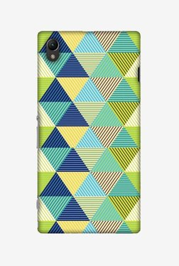 Amzer Triangles & Triangles Hard Shell Designer Case For Sony Xperia Z1 L39h
