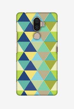 Amzer Triangles & Triangles Hard Shell Designer Case For Lenovo K8 Note