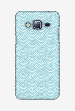 Amzer Overlapped Circles Hard Shell Designer Case For Samsung J3