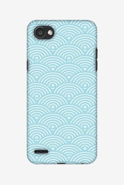 Amzer Overlapped Circles Hard Shell Designer Case For LG Q6/Q6 Plus