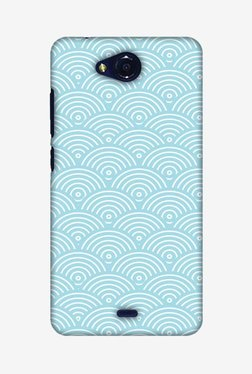 Amzer Overlapped Circles Hard Shell Designer Case For Micromax Canvas Play