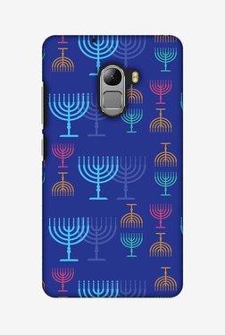 Amzer Hanukkah Pattern 2 Hard Shell Designer Case For Lenovo A7010/K4 Note