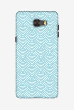 Amzer Overlapped Circles Hard Shell Designer Case For Samsung C9 Pro