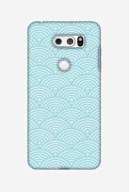 Amzer Overlapped Circles Hard Shell Designer Case For LG V30/V30 Plus