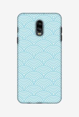 Amzer Overlapped Circles Hard Shell Designer Case For Samsung C8/J7 Plus