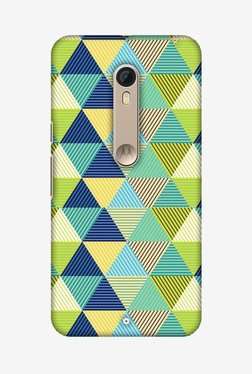 Amzer Triangles & Triangles Hard Shell Designer Case For Moto X Pure Edition/Moto X Style