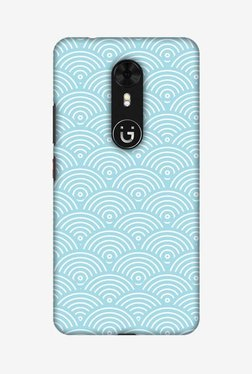 Amzer Overlapped Circles Hard Shell Designer Case For Gionee A1