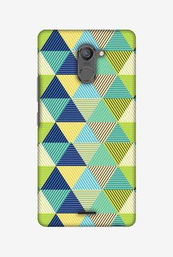 Amzer Triangles & Triangles Hard Shell Designer Case For Infinix Hot 4 Pro