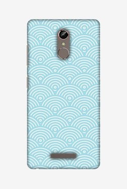Amzer Overlapped Circles Hard Shell Designer Case For Gionee S6s