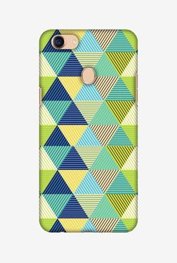 Amzer Triangles & Triangles Hard Shell Designer Case For Oppo F5/F5 Youth